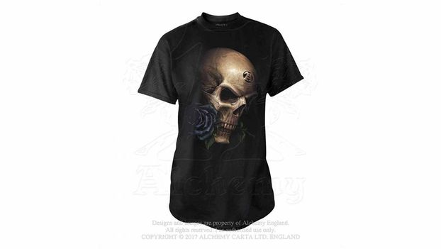 T-shirt and leggings for Gothic and alternative style