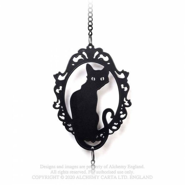 HD20 New product Cat Silhouette Hanging Decoration