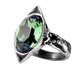 R120 - Absinthe Fairy Spirit Crystal Ring (Size N)