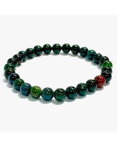 6mm Bloodstone Bead Bracelet (1piece)