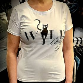 Qed London Diamante Wild Thing T-Shirt