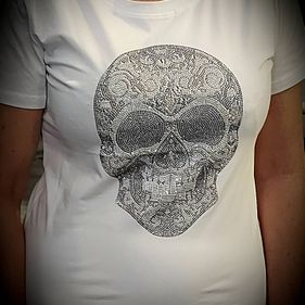 Diamante Skull T-Shirt