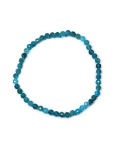 4mm Facet Bracelet Apatite (1 Piece)