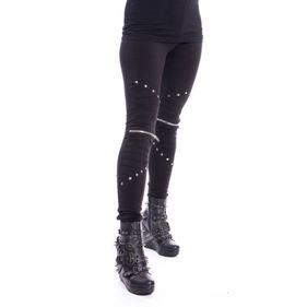 VIXXSIN WIND LEGGINGS LADIES BLACK.