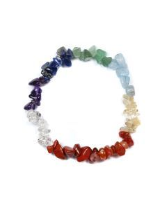 "7.5"" Chip Bracelet Chakra 8 Colour (1 Piece)"
