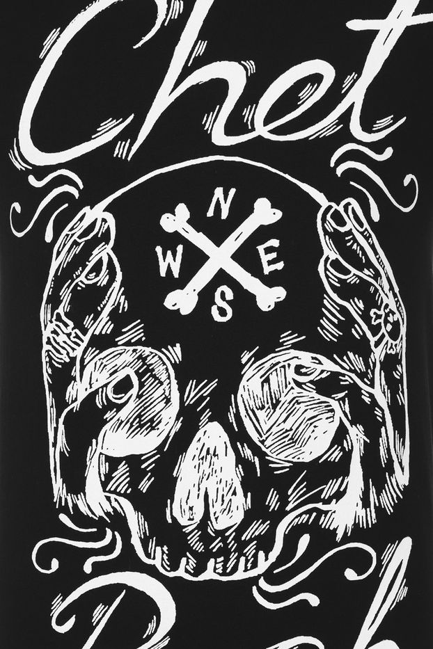 CHET ROCK SKULL T-SHIRT
