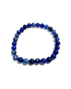 6mm Sodalite Bead Bracelet (1piece)