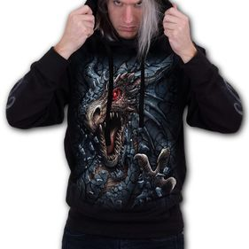 DRAGON'S LAIR - Hoody Black