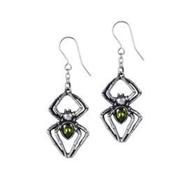 E428 - Emerald Venom Earrings